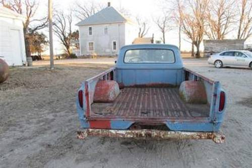 1962 Ford F100 Pickup For Sale (picture 3 of 4)