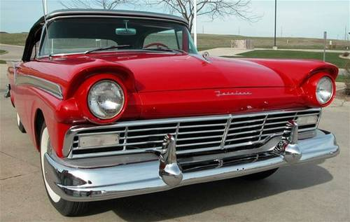 1957 Ford Fairlane 500 Skyliner For Sale (picture 3 of 6)