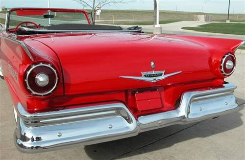 1957 Ford Fairlane 500 Skyliner For Sale (picture 4 of 6)