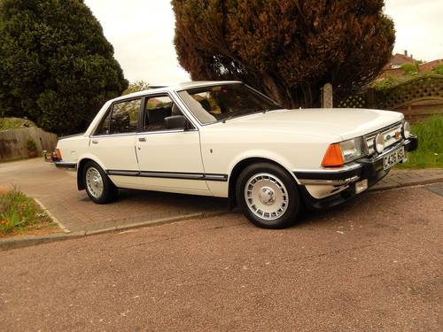 GRANADA 2,8i GHIA X 1985 'C reg 61,000mls  SOLD (picture 1 of 6)