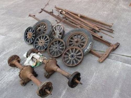 FORD Model T Commercial Chassis For Sale by Auction (picture 1 of 1)