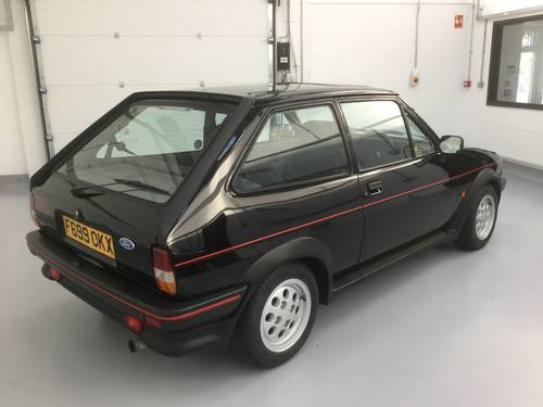 1989 CHERISHED 1 OWNER FIESTA XR2 BLACK SOLD (picture 3 of 6)