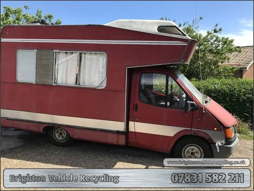 f19a6cde94b67f ... Ford Transit Camper CI Motorhome D Reg 1987 Spares Repairs SOLD  (picture 1 of ...