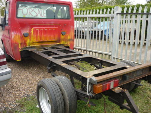 2001 Ford Tranist 350 MWB.TD. Chassis Cab For Sale (picture 1 of 2)