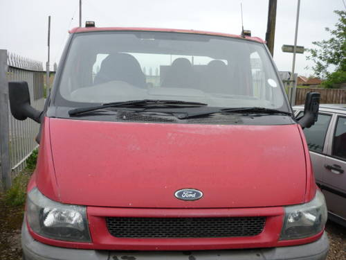 2001 Ford Tranist 350 MWB.TD. Chassis Cab For Sale (picture 2 of 2)
