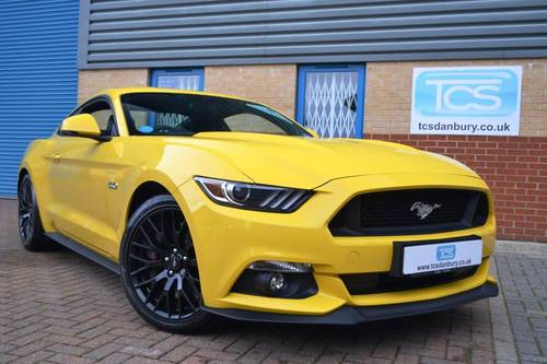 2016 Ford Mustang GT Automatic Fastback SOLD (picture 1 of 6)