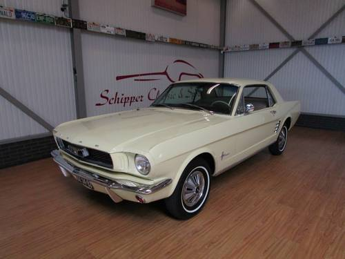 1966 Ford Mustang 200CU Automatic Coupé For Sale (picture 1 of 6)