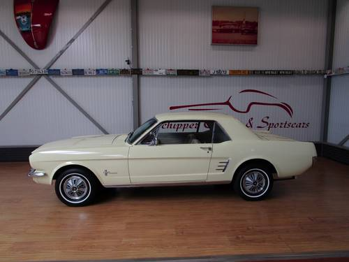 1966 Ford Mustang 200CU Automatic Coupé For Sale (picture 2 of 6)