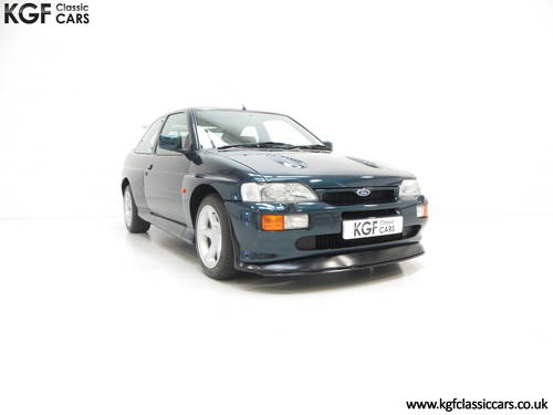 1994 A Perfect Big Turbo Ford Escort RS Cosworth Luxury SOLD (picture 1 of 6)