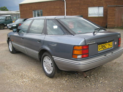 1989 Ford Granada Scorpio 2.9 Ghia For Sale (picture 3 of 6)
