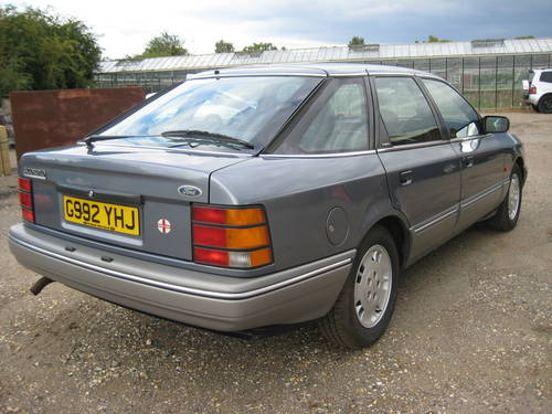 1989 Ford Granada Scorpio 2.9 Ghia For Sale (picture 4 of 6)