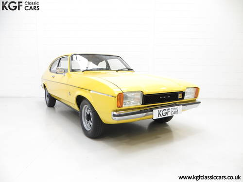 1977 A Stunning Ford Capri Mk2 1600L with Just 32,431 Miles SOLD (picture 1 of 6)