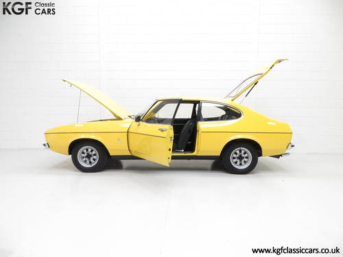 1977 A Stunning Ford Capri Mk2 1600L with Just 32,431 Miles SOLD (picture 3 of 6)