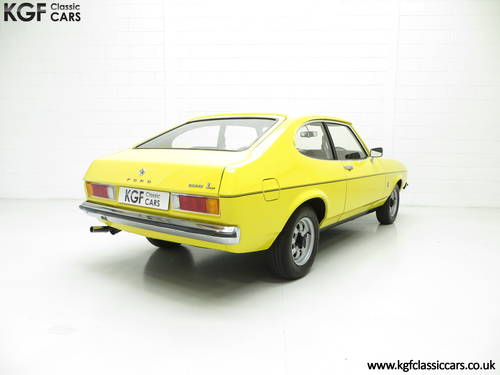 1977 A Stunning Ford Capri Mk2 1600L with Just 32,431 Miles SOLD (picture 5 of 6)