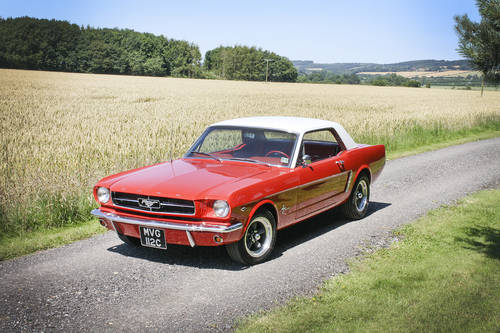 1965 Ford Mustang 289 V8 **SOLD** For Sale (picture 1 of 6)