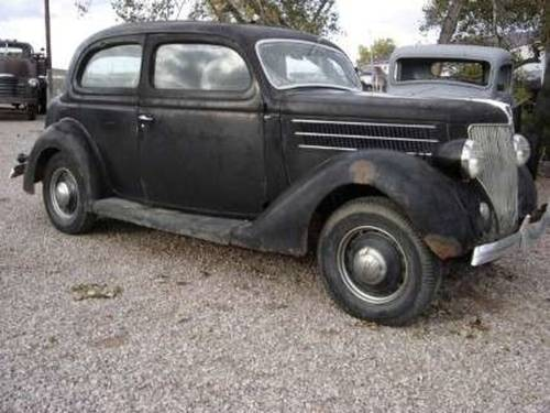 1936 Ford Deluxe 2DR Sedan For Sale (picture 2 of 6)