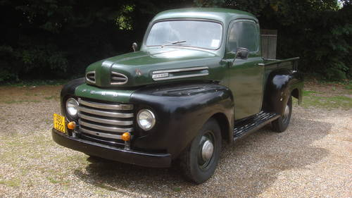 1948 FORD F1 PICKUP TRUCK FLATHEAD V8 SOLD (picture 1 of 6)
