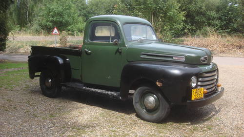 1948 FORD F1 PICKUP TRUCK FLATHEAD V8 SOLD (picture 2 of 6)