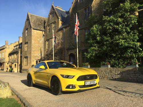 2017 Mustang GT 5.0V8 Auto in Triple Yellow with 16500 Miles For Sale (picture 1 of 6)