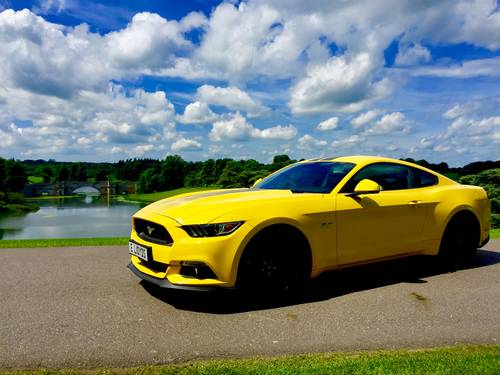 2017 Mustang GT 5.0V8 Auto in Triple Yellow with 16500 Miles For Sale (picture 3 of 6)