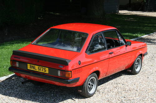 1977 Ford Escort RS 2000 MK2 .Wanted Wanted (picture 3 of 6)