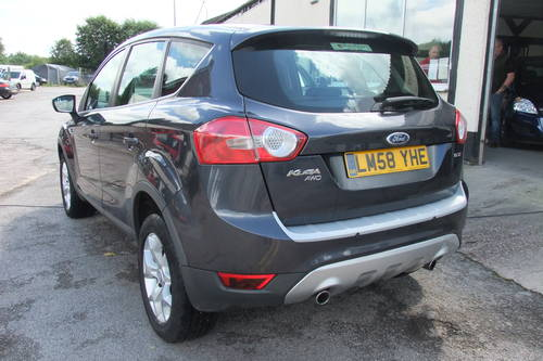 2008 FORD KUGA 2.0 ZETEC TDCI AWD 5DR Manual SOLD (picture 3 of 6)