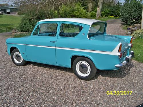 1967 harry potter style ford anglia for sale car and classic. Black Bedroom Furniture Sets. Home Design Ideas