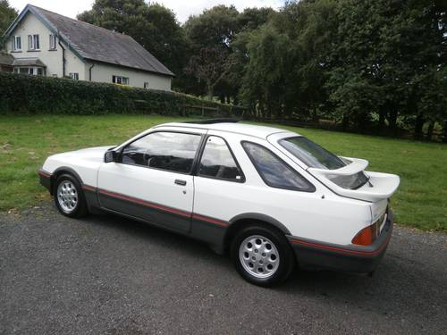 1983 FORD SIERRA XR4I WHITE 1 OWNER UNRESTORED VERY RARE! SOLD (picture 2 of 6)