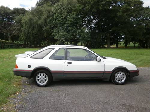 1983 FORD SIERRA XR4I WHITE 1 OWNER UNRESTORED VERY RARE! SOLD (picture 3 of 6)