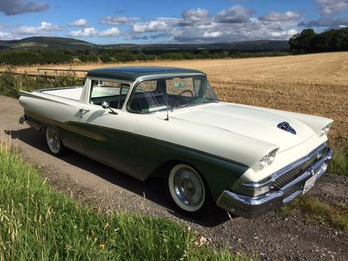 1958 Ford Ranchero 382 V8 4-speed manual SOLD (picture 1 of 1)