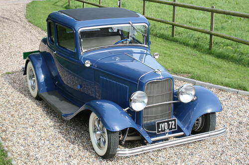 1932 Model B Coupe V8 All Steel Hot Rod. The Best Available. For Sale (picture 1 of 6)