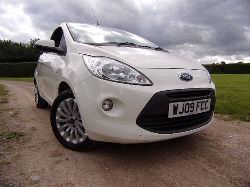 2009 Ford Ka 1.2 Zetec Only 14,750 miles For Sale (picture 1 of 6)