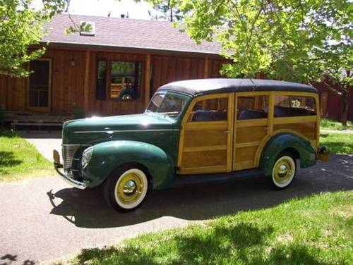 1940 Ford Deluxe Woody Wagon For Sale (picture 1 of 5)