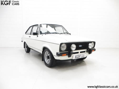 1979 A UK Matching Numbers Mk2 Ford Escort 1600 Sport SOLD (picture 1 of 6)