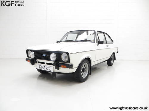 1979 A UK Matching Numbers Mk2 Ford Escort 1600 Sport SOLD (picture 2 of 6)