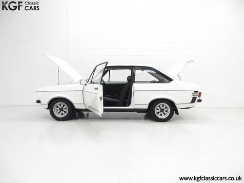 1979 A UK Matching Numbers Mk2 Ford Escort 1600 Sport SOLD (picture 3 of 6)