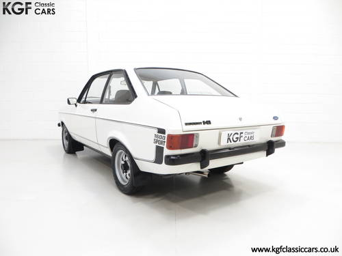 1979 A UK Matching Numbers Mk2 Ford Escort 1600 Sport SOLD (picture 4 of 6)
