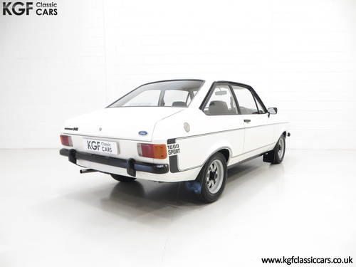 1979 A UK Matching Numbers Mk2 Ford Escort 1600 Sport SOLD (picture 5 of 6)