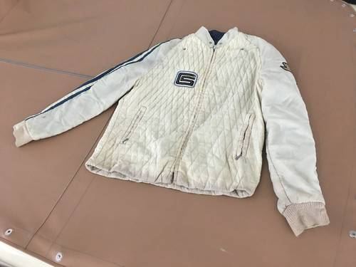 RARE KEN MILES SHELBY GT40 JACKET from 1966 Le Mans.  SOLD (picture 1 of 3)