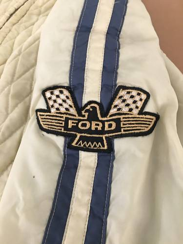 RARE KEN MILES SHELBY GT40 JACKET from 1966 Le Mans.  SOLD (picture 3 of 3)