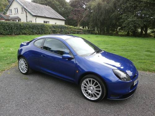 2000 FORD RACING PUMA 296/500 IN BLUE ** PLEASE READ ** SOLD (picture 1 of 6)
