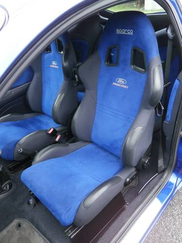 2000 FORD RACING PUMA 296/500 IN BLUE ** PLEASE READ ** SOLD (picture 5 of 6)