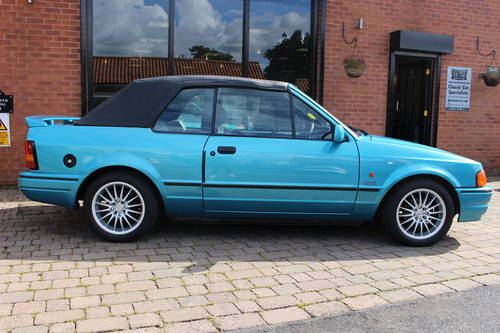 1989 Ford Escort XR3i Cabriolet SOLD (picture 4 of 6)