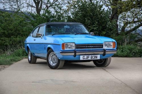 1974 Ford Capri Mk Ii 3000 Ghia Sold Car And Classic