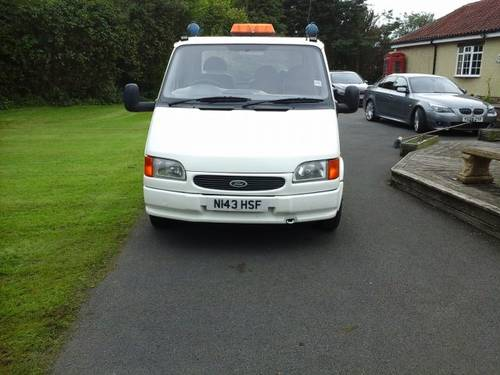 1995 N FORD TRANSIT MK3 190 DIESEL, 2.5 CAR TRANSPORTER For Sale (picture 1 of 4)