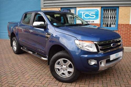 2014 Ford Ranger Limited 3.2 TDCi 4x4 Pick-Up 6-Speed SOLD (picture 1 of 6)