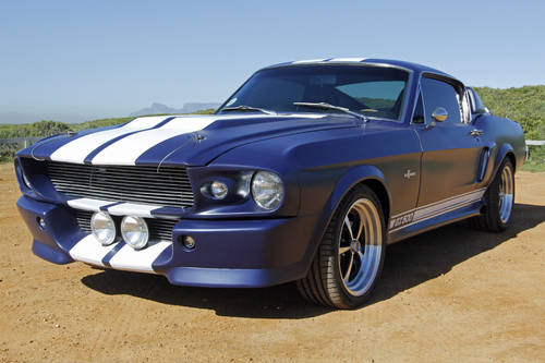 1967 Ford Mustang Shelby GT500 Eleanor Re-creation SOLD ...