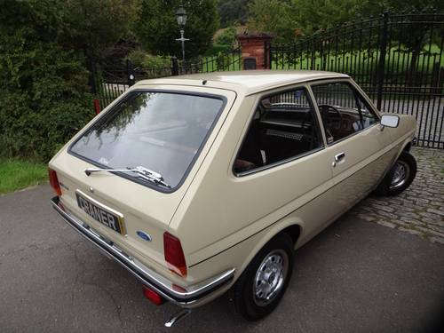 1980 Ford Fiesta 1100cc 3 door hatchback SOLD (picture 3 of 6)