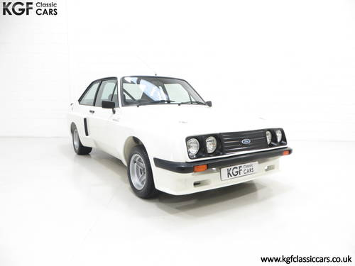 1978 A Tremendous Mk2 Ford Escort RS2000 X Series SOLD (picture 1 of 6)