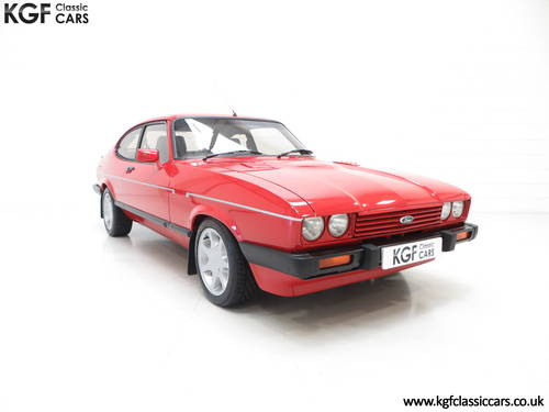 1983 The Ultimate Ford Capri 2.8 Injection Turbo Technics SOLD (picture 1 of 6)